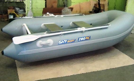 лодка риб skyboat sb 280rc